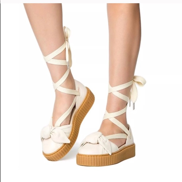 PUMA FENTY Rihanna BOW CREEPER SANDALS 8fdae5908